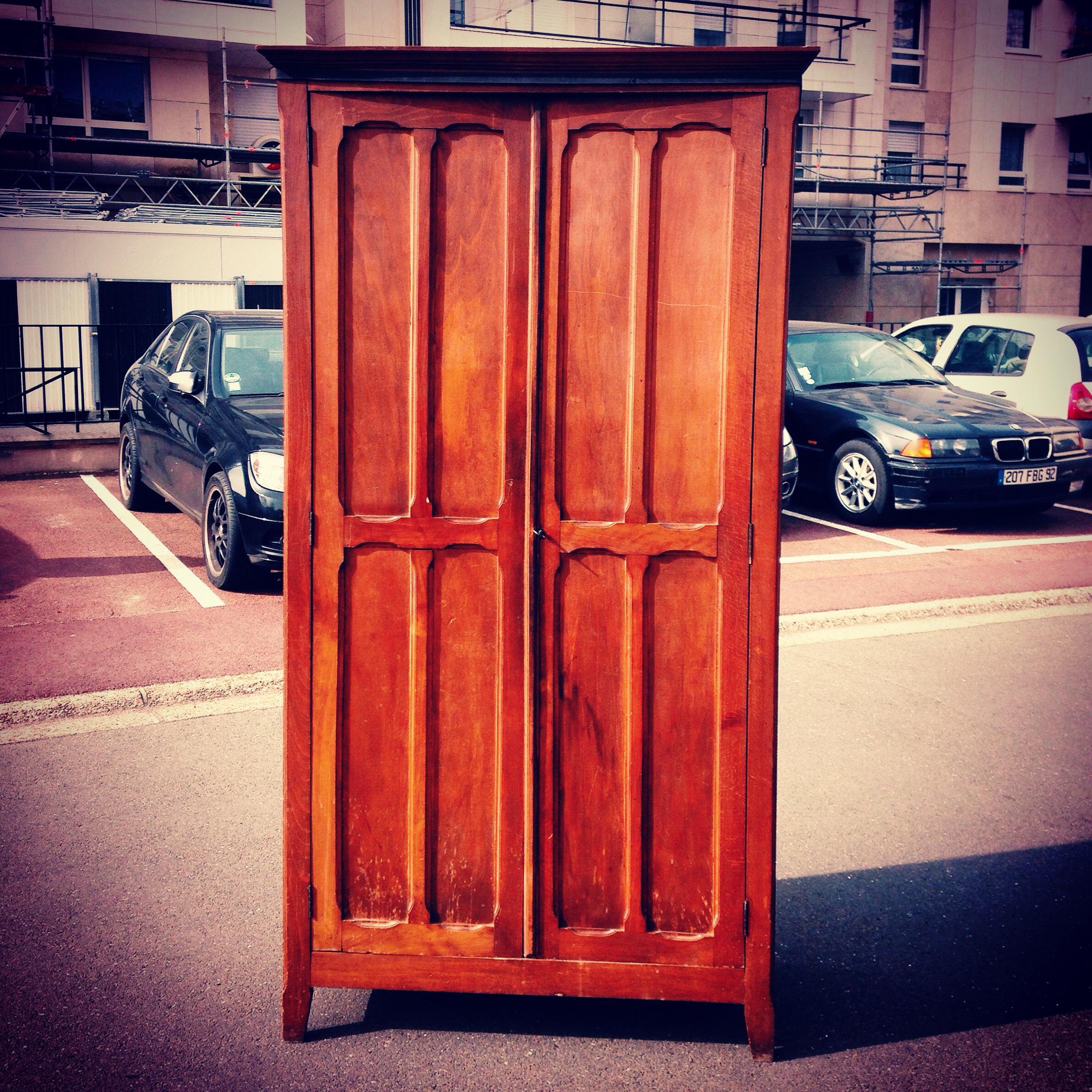 98of365 r novation d une armoire parisienne happymarylou for Meubles d occasion emmaus