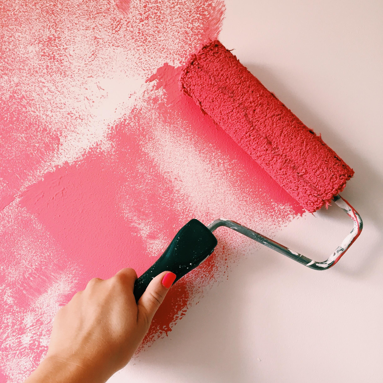 197of365 osez la couleur sur vos murs happymarylou. Black Bedroom Furniture Sets. Home Design Ideas
