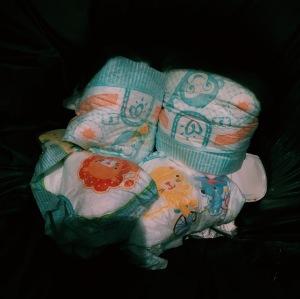 couches - déchet - gaspillage