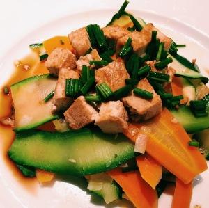 tagliatelles - legumes - soja - cuisine - vegan