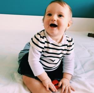 bébé - bonheur -9 mois