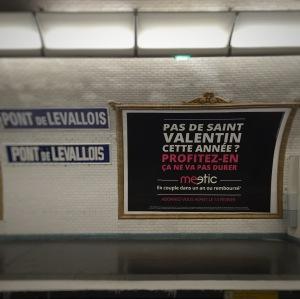 meetic -  saint valentin