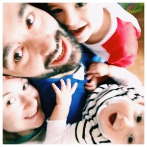 deux enfants - amour - famille