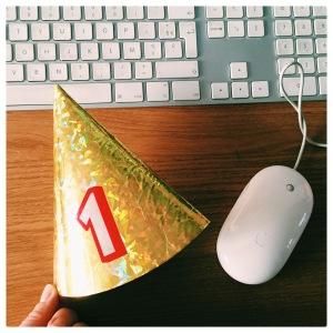 happy birthday - un an - anniversaire
