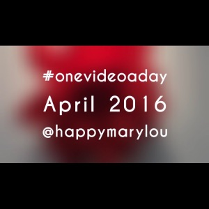 onevideoaday - avril - un bonheur pa rjour - 365 challenge