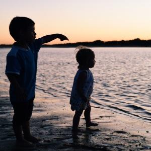 enfant - plage - vacances