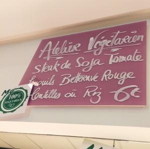 vegetarien - cantine -