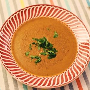 vegetarien - soupe lentilles